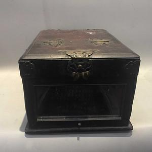 红木梳装盒