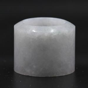 糯冰种翡翠扳指