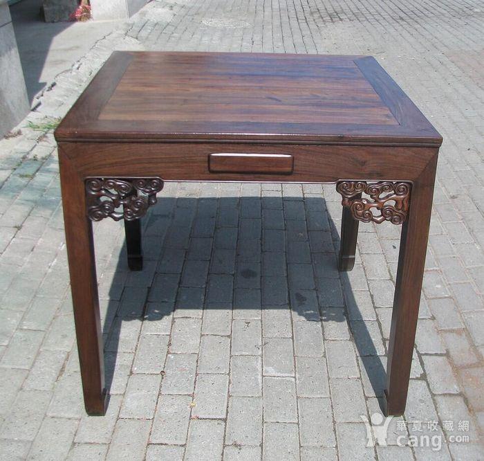 老红木(酸枝)老茶桌