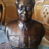 文革~毛主席铜像