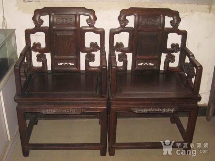 香港回流民国苏工精品老红木什锦灵芝大太师椅一套