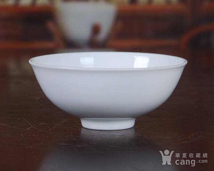 景德镇文革老厂瓷 �{白泥�{白釉滑石子全手工拉坯茶杯 茶盅图2