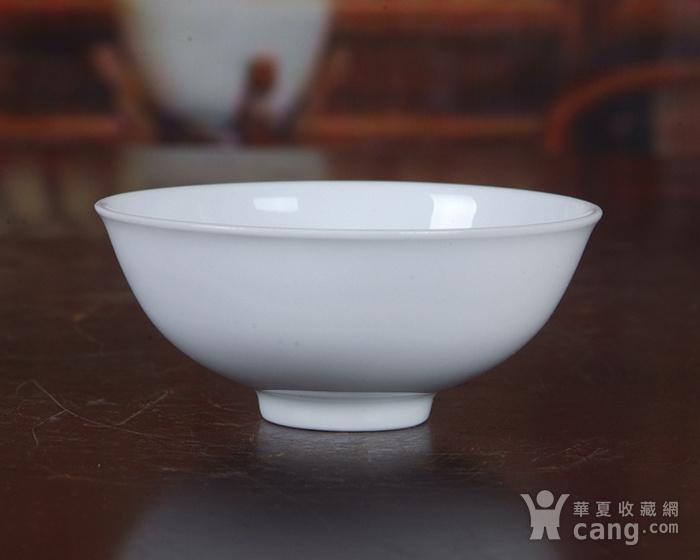 景德镇文革老厂瓷 �{白泥�{白釉滑石子全手工拉坯茶杯 茶盅图4