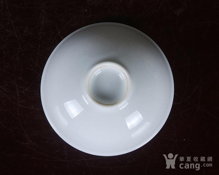 景德镇文革老厂瓷 �{白泥�{白釉滑石子全手工拉坯茶杯 茶盅图6