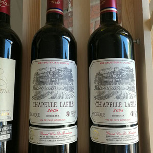 【法国原装进口2009年拉菲古堡,多拍多发,一箱6瓶】编号11632