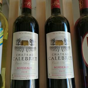 【法国2012佳乐伯干红葡萄酒,多拍多发,一箱6瓶】编号11635