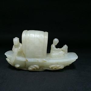 和田籽料小船