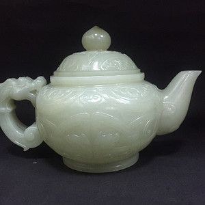 清代和田精品茶壶