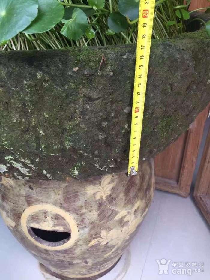 清代 石雕盆图2