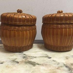 竹编糖果盒