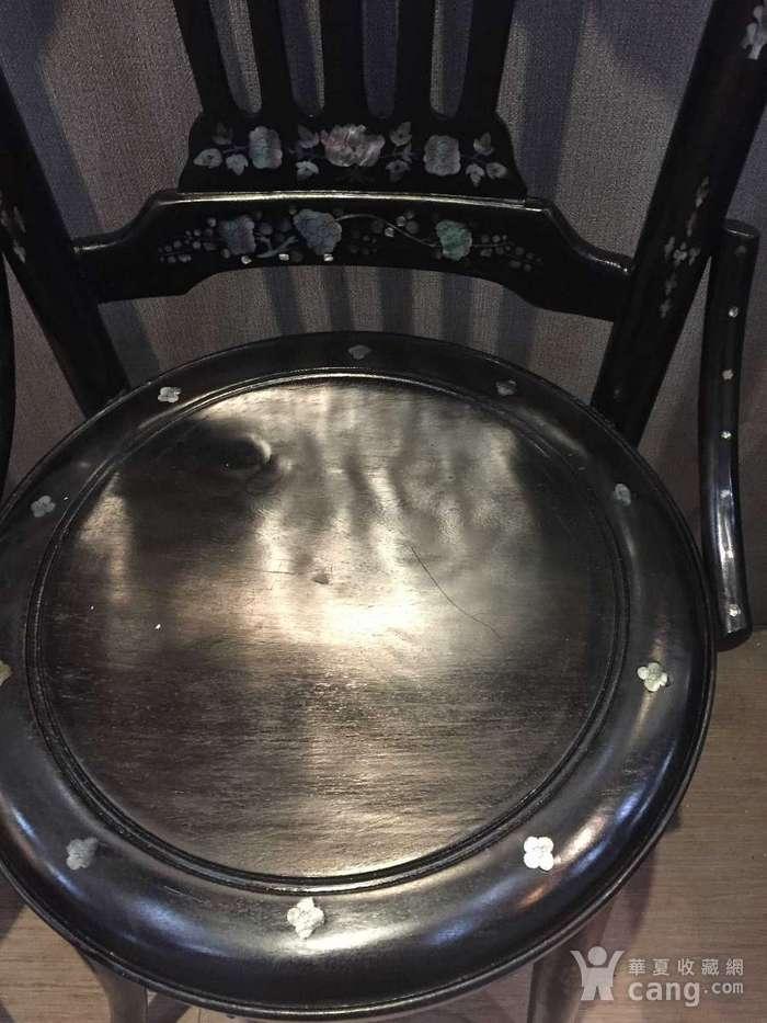 螺钿小姐椅一对图4