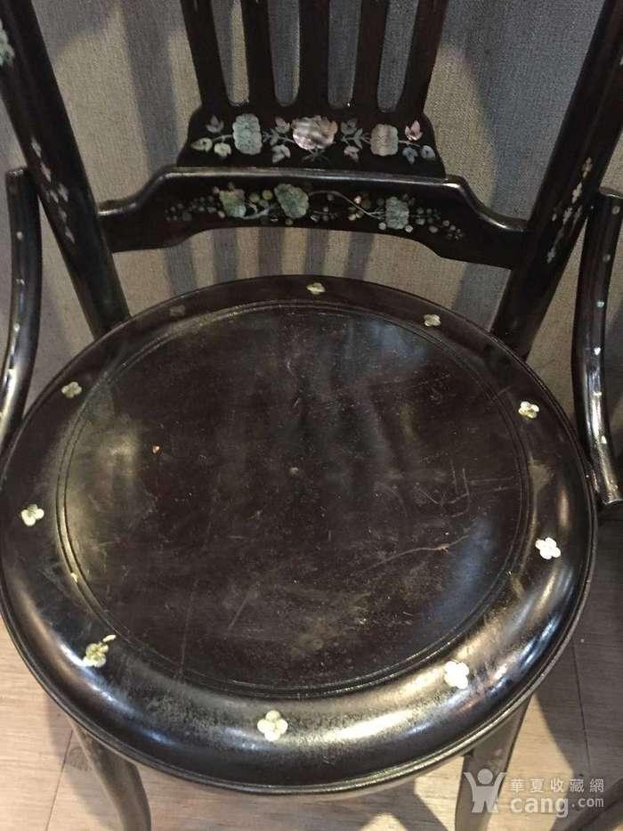 螺钿小姐椅一对图5