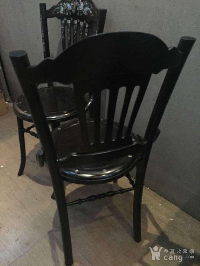 螺钿小姐椅一对图8