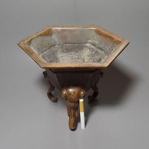象首铜香炉 带工 造型独特 包浆好
