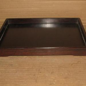 老红木文房盘