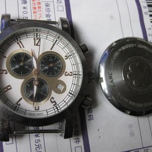 老手表。男式。瑞士万宝龙石英。表径38毫米