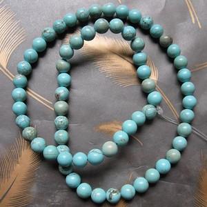 天然松石珠串