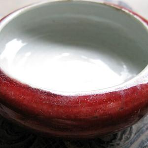 【文房】江豆红水洗