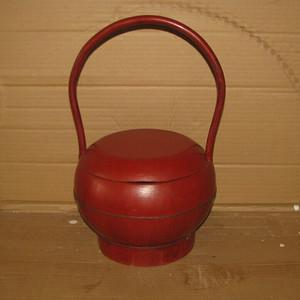 一流品相十里红装提桶