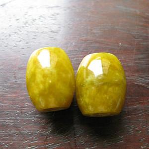 老黄翡玉对珠