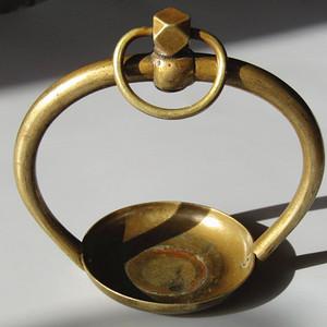 民国时期 铜 养鸟架子 工艺考究