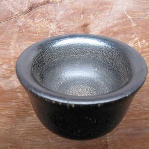 【收藏级】黑料杯 鱼子竹丝纹