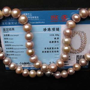 【收藏级】珍珠项链 粒粒包满硕大