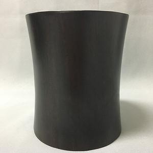 【联盟】黑酸枝超厚重油性大笔筒