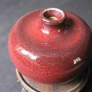 【文房至宝】豇豆红苹果尊