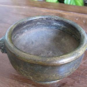 【典藏】清 款铜香炉