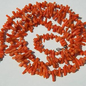 [联盟]美国回流几十年的红珊瑚小枝子项链