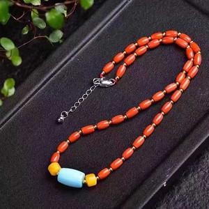 联盟红珊瑚手链项链
