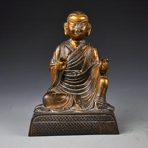 紫铜鎏金藏传佛像