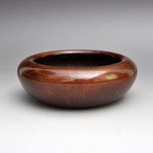 紫铜精品香炉文房铜器收藏品