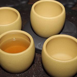 【联盟】名家纯手工带落款紫砂杯4只