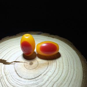 【联盟】珍稀材质NT米珠腰珠一对