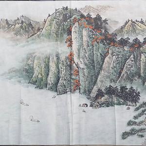 【联盟】于伯翼写意山水画-清江顺风图