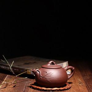 【联盟】紫泥斑竹壶——王兆春