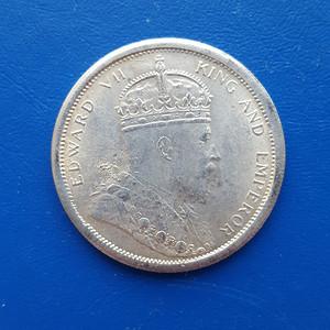 【联盟】英国海峡殖民地银币壹圆