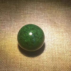 【联盟】天然清代老虬角20mm单珠 多宝