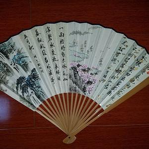 【联盟】柯继志——春夏秋冬四季山水精品成扇