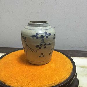 元青花小明罐