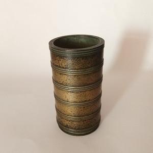 有一些年份 炫纹铜香筒