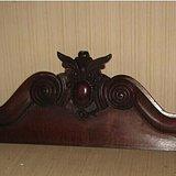 装修佳品--花梨木雕刻大板
