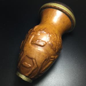 清代宫廷文玩 匏器蛐蛐罐一个