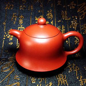 【金牌】美品大红袍名家紫砂壶!国家级工艺美术师卢伟萍全手工作品金钟壶