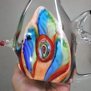 【金牌】琉璃精品,热带鱼摆件