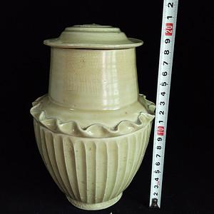 【季度大拍】宋代将乐窑茶叶盖罐
