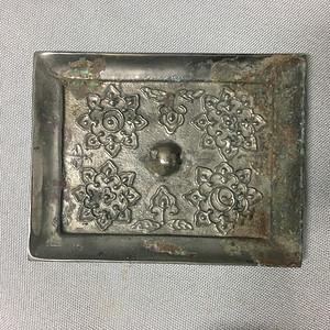 【金牌】唐代菱花纹铜镜