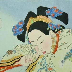 【季度大拍】已故法国艺术家保罗的宫廷版画----白檀香